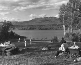 McLure Lake; Government campsite near Telkwa, B. C. (descriptions839)