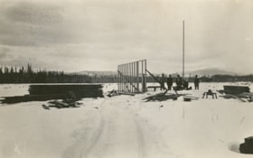 First building at Hubert, B.C., March 1914 (descriptions987)