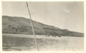 Two boats shipping freight at Decker and Burns Lake. (descriptions1268)
