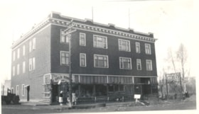 Bulkley Hotel during Klondike Days, Main Street, Smithers, … (descriptions1407)