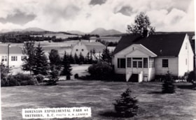 Dominion Experimental Farm at Smithers, B.C. (descriptions1581)