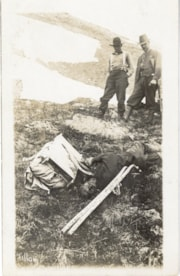 Body of Jack Pekoe (Picco) in the mountain alpine (descriptions1672)