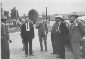 Olaf Hanson and L.B Warner campaigning during the [1935 or … (descriptions1753)