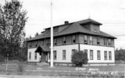 Courthouse on Highway 16 and Main Street, Smithers, B.C. (descriptions1797)