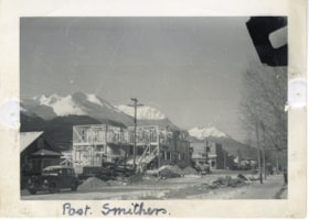 Construction of the Post Office on Main Street, Smithers, B… (descriptions1807)