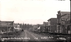Main Street North from Broadway, Smithers, B.C. (descriptions2080)