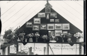 Photo and flower exhibit at the Bulkley Valley Agricultural… (descriptions2101)