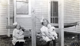Ellen Coyle and Muriel Adams, Smithers BC (descriptions2277)