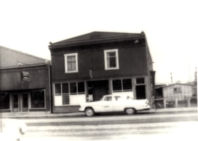 A dress shop and the Government Liquor Store on Smithers Ma… (descriptions2303)