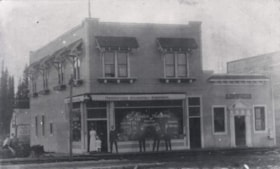 Exterior view of J. Mason Adams Drugstore on Smithers Main … (descriptions2338)