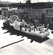 50th Jubilee Project float going through Smithers Main Stre… (descriptions2353)