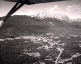 Aerial view of Smithers, B.C. (descriptions2478)