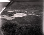 Aerial view of the Bulkley Valley and farm site (descriptions7281)