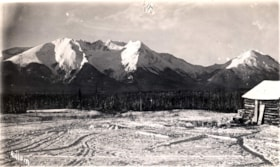 A view of the Hudson Bay Mountain and Glacier from a farm d… (descriptions2692)