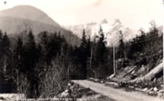 Postcard format.  The Lions Mountain near North Vancouver, … (descriptions2709)