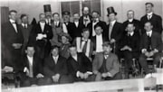 Mock trial in the Methodist Church (later United Church) 19… (descriptions2770)