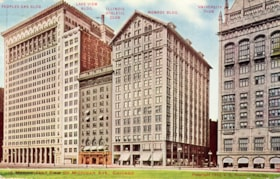 """A Magnificent Row on Michigan Ave., Chicago"" (descriptions7659)"