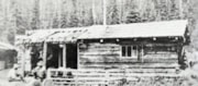 Log cabin, Yukon Telegraph (from 40 years on the Yukon Tele… (descriptions2795)