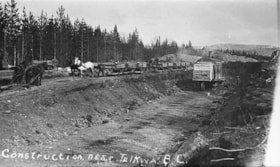Construction near Telkwa, B.C. (descriptions2839)