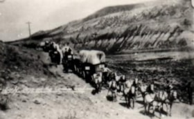 Hauling freight from Ashcroft to Barkerville (descriptions2875)
