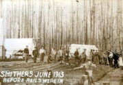 """Smithers June 1913, before rails were in"" (descriptions2949)"