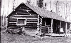Home of Leslie and Bernice Martin at Decker Lake (descriptions3222)