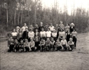 ELEMENTARY SCHOOL STUDENTS OF TELKWA SCHOOL ON MAY 22, 1953 (descriptions3254)