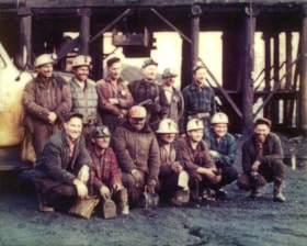 Bulkley Valley Collieries Ltd. mine crew (descriptions6599)