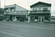Radio Shack and Central Clothing Storefronts on Main Street (descriptions3404)
