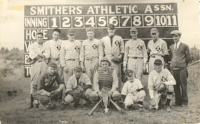 Smithers' Snappy Nines baseball team (descriptions3651)