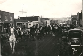 A parade on Main Street Smithers, with the Provincial Gover… (descriptions3817)