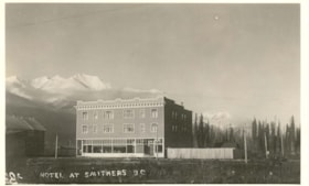 Hotel at Smithers, B.C. (descriptions4221)