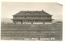 Canadian National Railway Depot, Smithers, B.C. (descriptions4222)