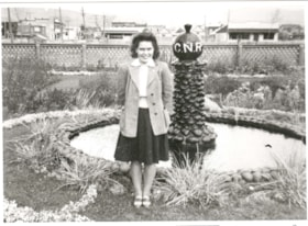 Daintre Riffel (nee Goodacre) at the Canadian National Rail… (descriptions6230)