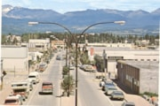 View of Smithers Main Street in the 1980s (descriptions4330)