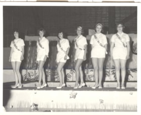 Smithers 50th Jubilee, Jubilee Queen judging, contestants (descriptions4624)