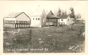 """Indian Cemetery Hazelton BC."" Postcard Photographer Willia… (descriptions4705)"