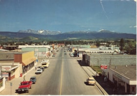 "Old postcard of Smithers Main Street. ""The Yellowhead Route… (descriptions4714)"