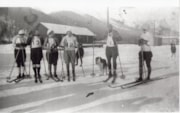 Women's cross country racers, Smithers, 1934 (descriptions4745)