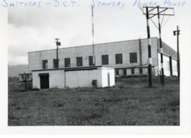 Smithers Department of Transport Standby Power House (descriptions4772)