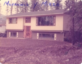 Mohammod Y. Mirza's House. Could be near Skeena Place (descriptions4786)