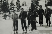 At Schufer's cabin, Easter Monday, March 25, 1940 (descriptions5589)