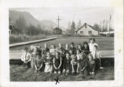 Smithers Elementary School grade 1 class photo, 1944 (descriptions5544)