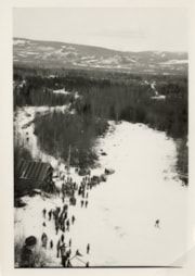 Photo of Malkow ski hill from top of hill (descriptions6586)