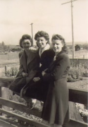Gloria Stefano, Mary Fowler, and Wilma Watson (descriptions5669)