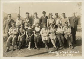 Smithers High School Div. 2 class photo (descriptions9307)