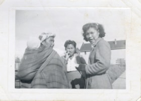 Cecile Nikal, Josephine (Isadore) Eastman, and Annie Gagnon (descriptions6026)