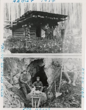 Prospectors of the Zyolectic Group of Mines, Smithers, B.C. (descriptions6157)