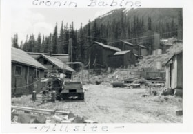 Millsite at Cronin (Babine-Bonanza) Mine (descriptions6159)