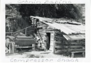 Compressor shack at Cronin (Babine-Bonanza) Mine (descriptions6161)